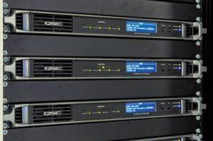 QSC Q-SYS I/O-Frames für das Atmosphea-System