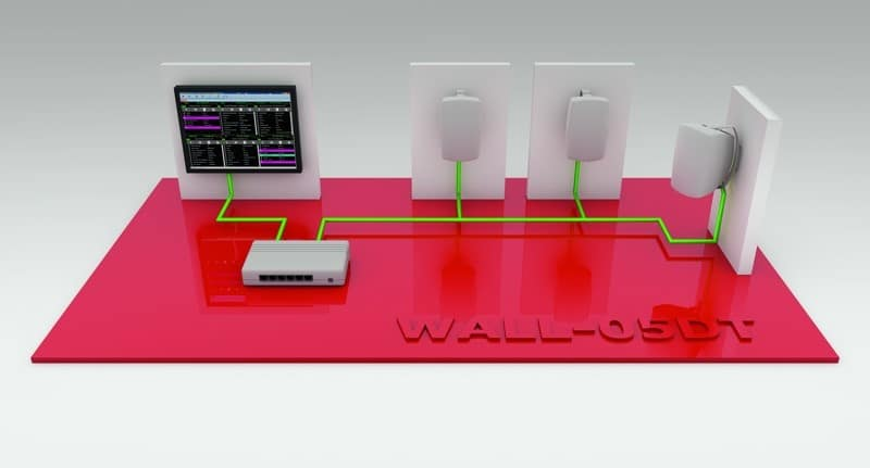 Wall-PC mit Dante™ DVS und Controller-Software sowie Musik-Streaming-Software leitet