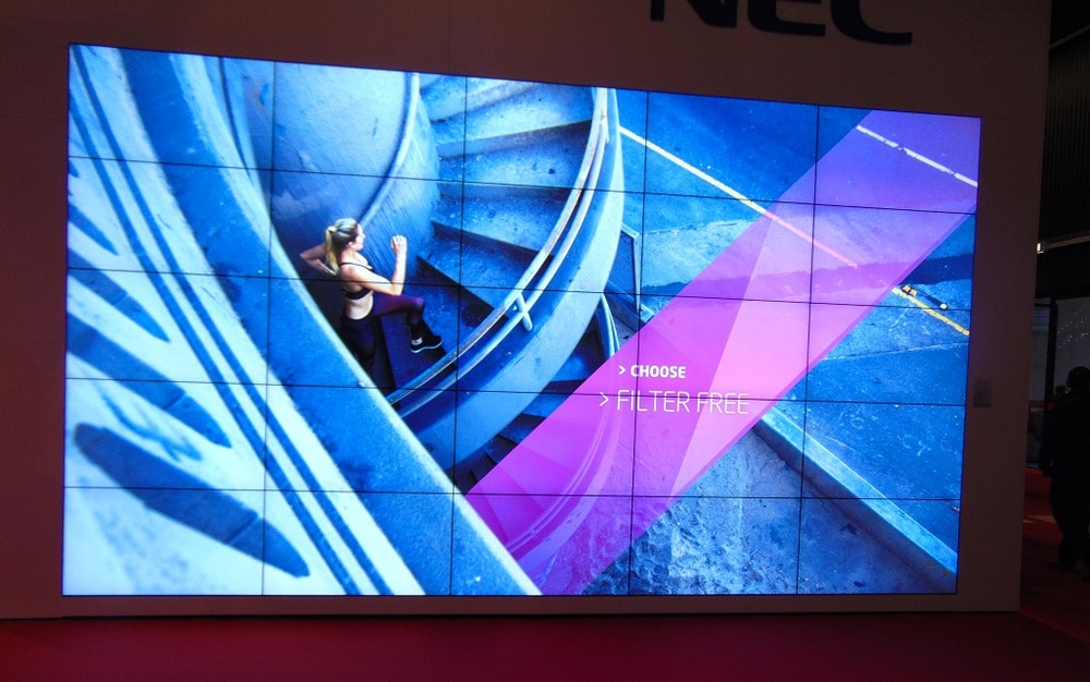 NEC Videowall
