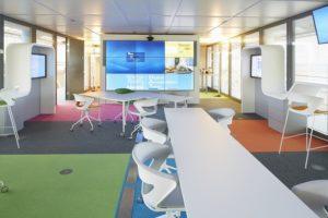 Pan Acoustics bietet maßgeschneiderte Lösungen für Konferenzräume wie im Headquarter von Nestlé. Bild: