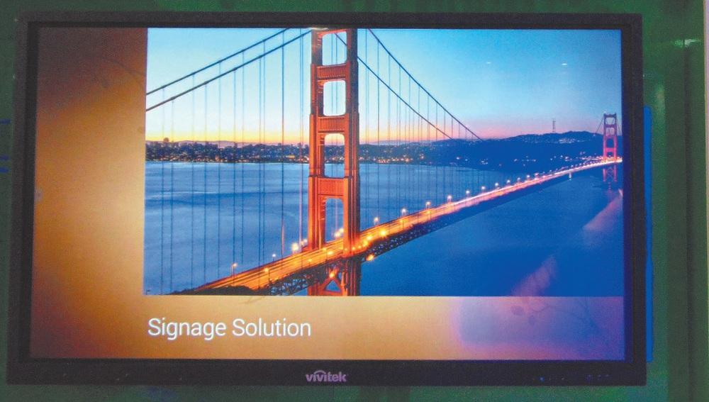 Das interaktive Display NovoTouch von Vivitek