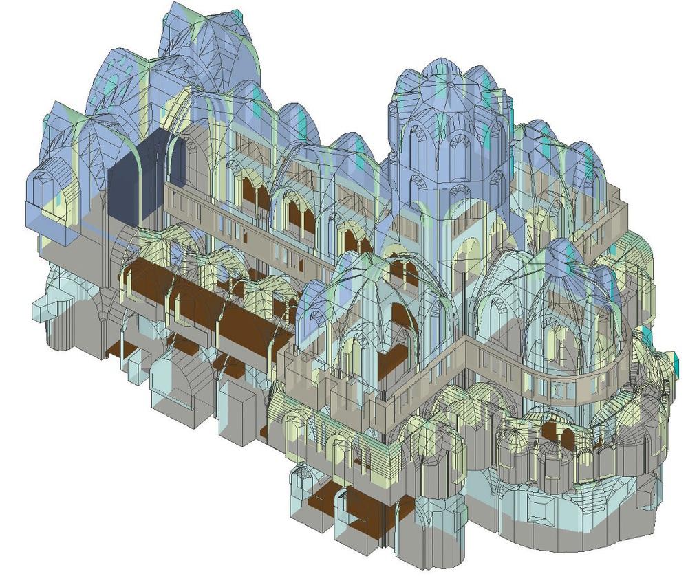 ABB. 1: Außenansicht des EASE-Modells mit 14.200 Flächen