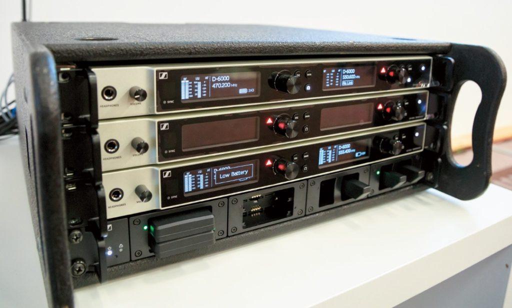 Digital 6000 Empfänger EM 6000 und Ladestation L 6000