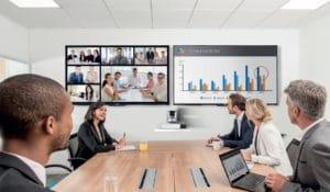 Videokonferenz Situation