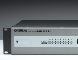 Netzwerk Audioprozessor Yamaha MRX7-D