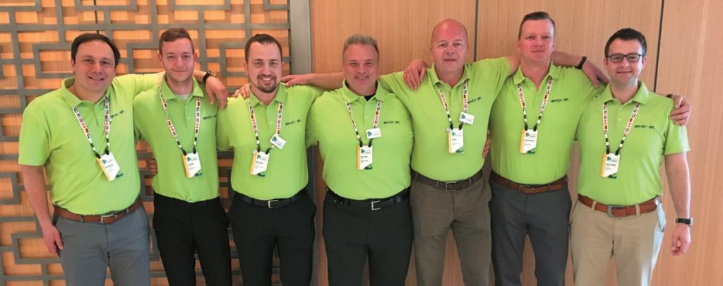 Das Team von AVI-SPL Deutschland