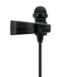Ansteckmikrofon (Beispiel: Sennheiser Freeport Lavalier)