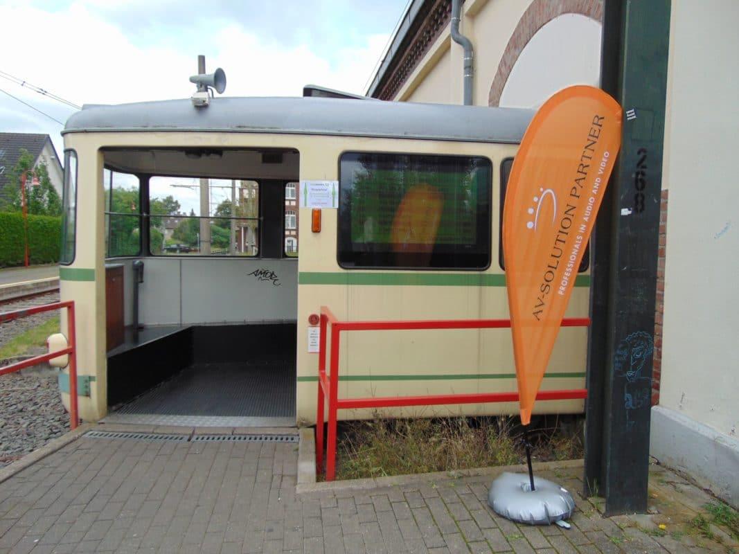 AV-Solution Partner Roadshow - Eingang
