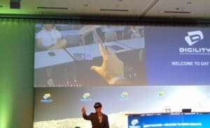 Digility 2017: Vorstellung der Microsoft Hololens