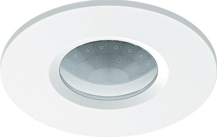 Der Gira KNX Helligkeitsregler Mini zum Deckeneinbau regelt die Leuchten so, dass die gewünschte Raumhellig keit konstant gehalten wird.