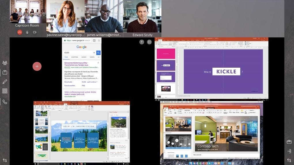 Optional bietet Kickle einen Remote-Installationsservice für kleine Unternehmen ohne eigene IT-Abteilung.