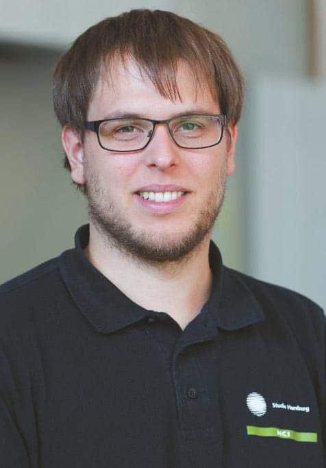 MCI-Mitarbeiter Sören Stüwe