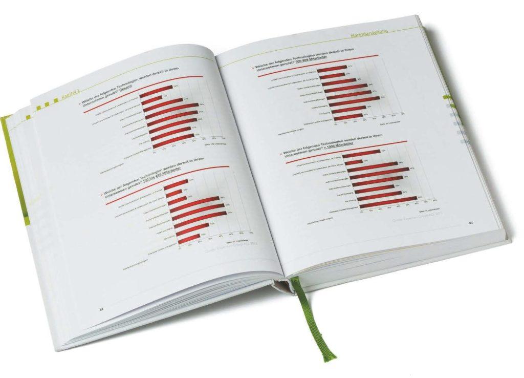 Zahlreiche Statistiken und Untersuchungsergebnisse im Buch