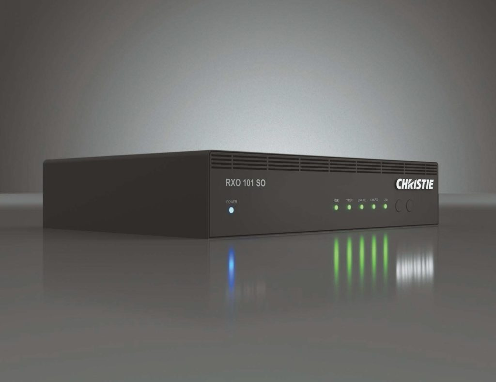AV-Übertragungssystem Christie Terra