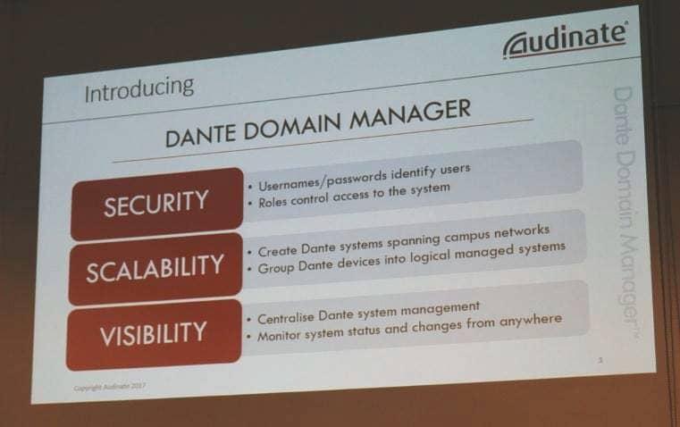 Dante Domain Manager