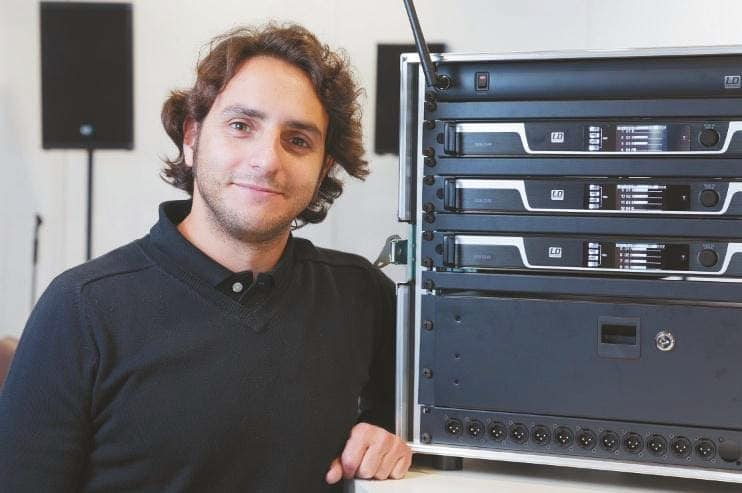 LD Systems Produktmanager Gabriel Alonso Calvillo