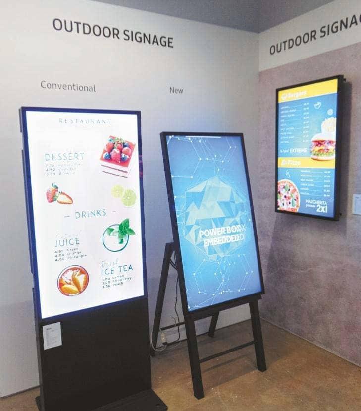 Serie OH gedacht, rechts die neue, auch für Sonnenbrillenträger geeignete Variante