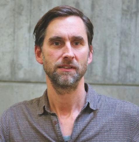 Martin Funk, Leiter der Tonabteilung des Stadttheaters Ingolstadt