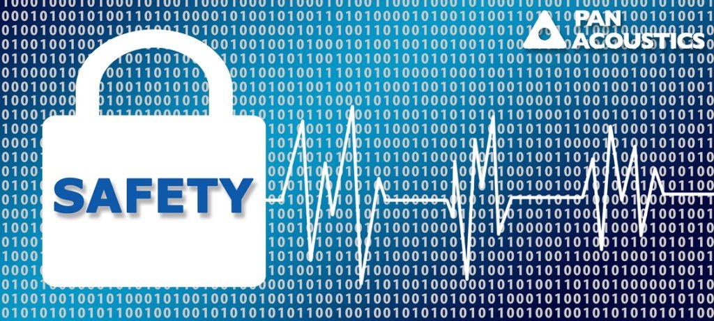 Passwortschutz, flexible PibotonnAuswertung und Fehbermebdung üier Abarmkontaktbieten Schutz und Komfort.