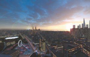 Smart City Vision für das Jahr 2030 von Philips Lighting