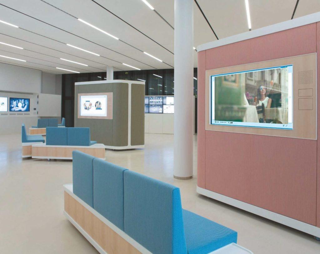 Nestlé Competence Center in Frankfurt