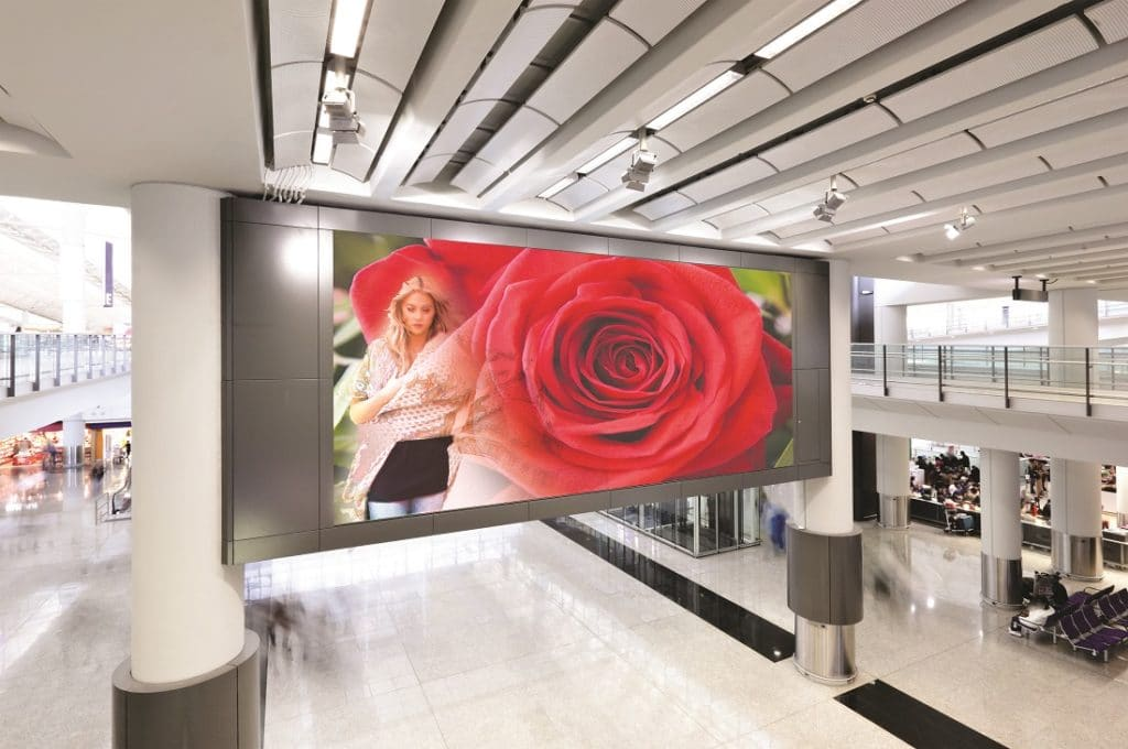 Delta Display Indoor LED-Wall der FE-Serie