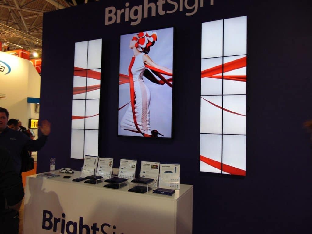 BrightSign Zuspielung auf 17Displays
