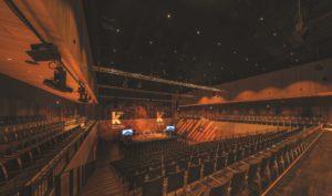 Kultur- und Kongresshalle kING
