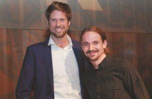 Dominik Schenke (links) und Manuel Marx