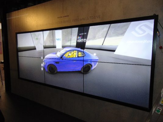 NEC Modular Touch Wall