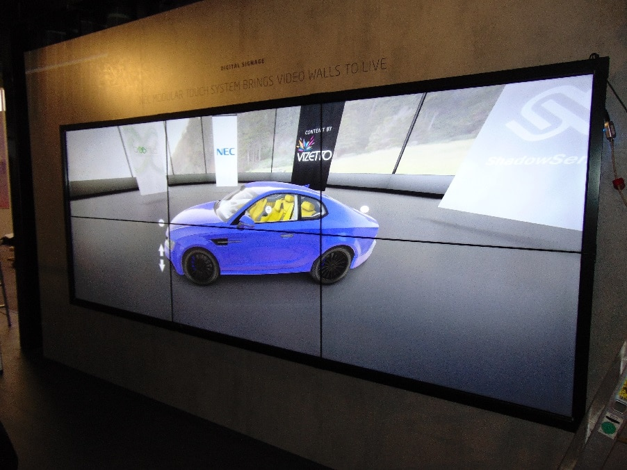 NEC Modular Touch Wall