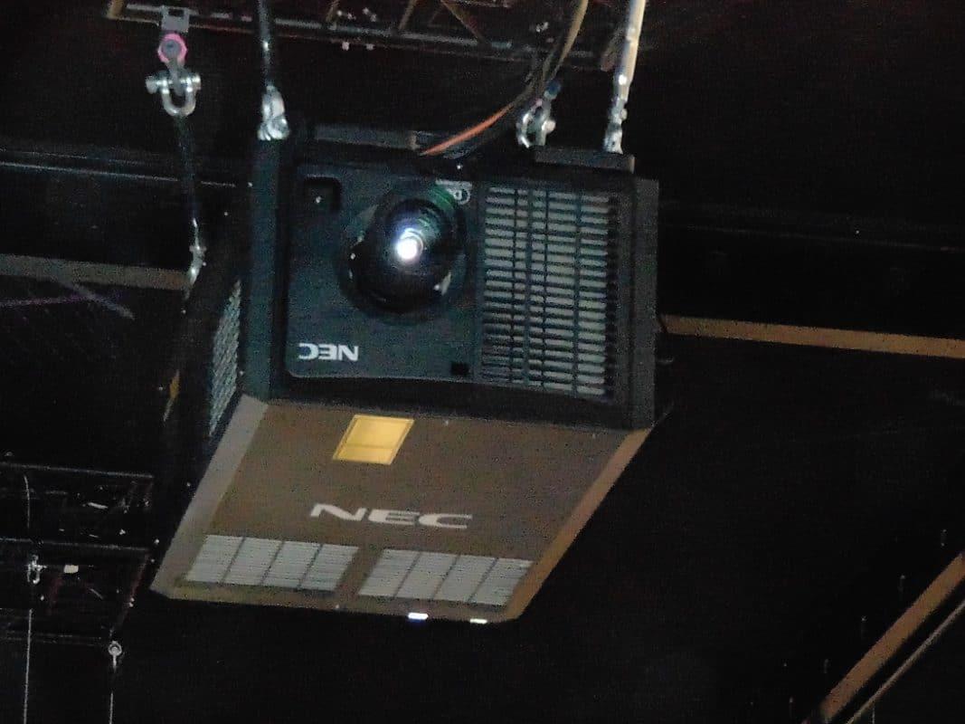 NEC PH3501 projektor