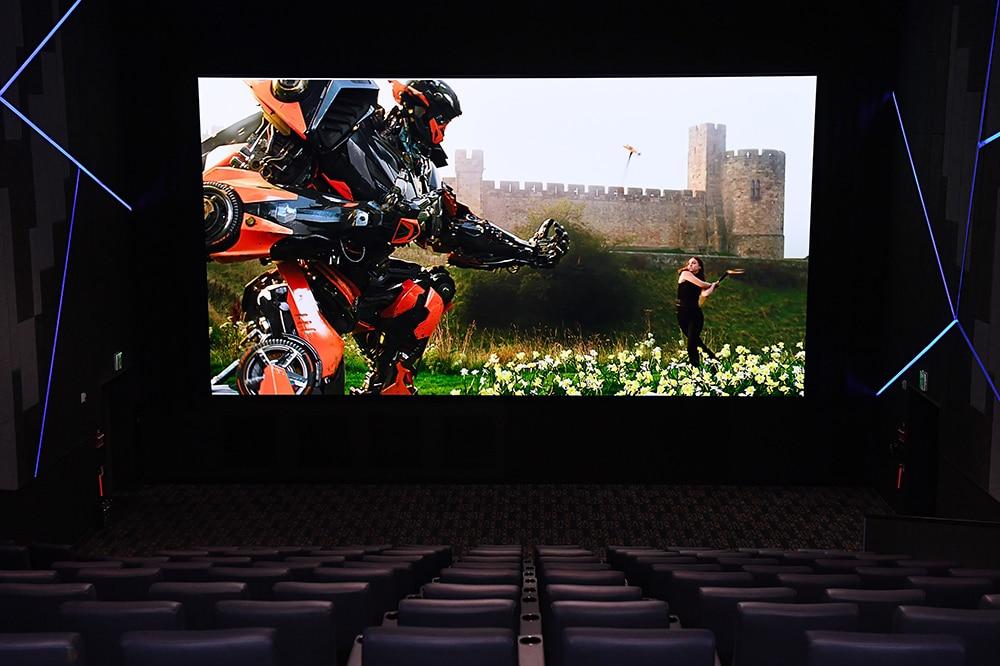 Der Samsung Cinedma Screen