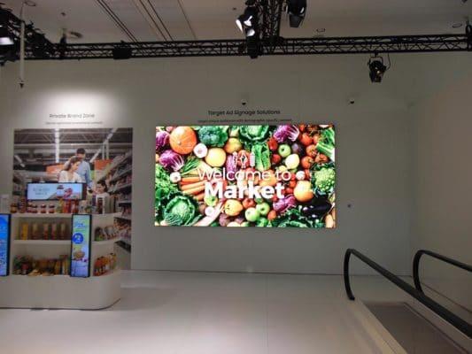 LED Signage für den Supermarkt