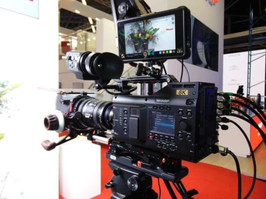 Sharp 8K Kamera