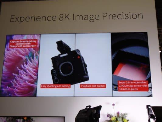 Sharp 8K Screens