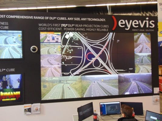 eyevis TRP Rearprojection Wall