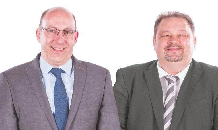 Jochen Schwarz und Uli Haug , Fohhn