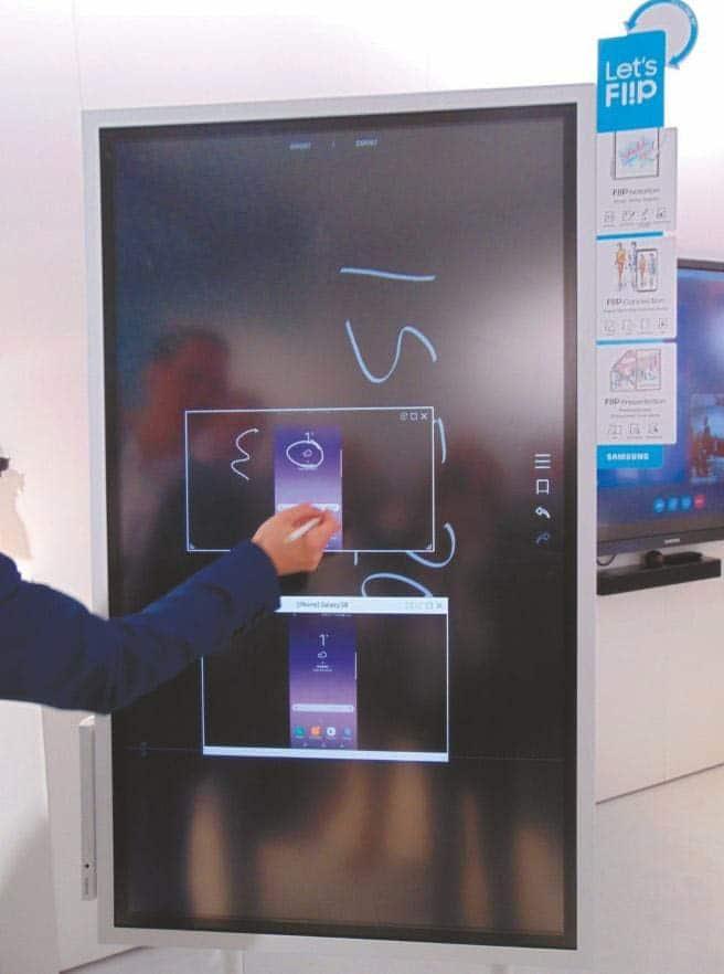 Digitales Flipchart Samsung Flip