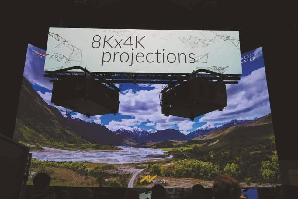 8K-fähiger Mediaserver Wings Engine RAW 8K AV von Stumpfl