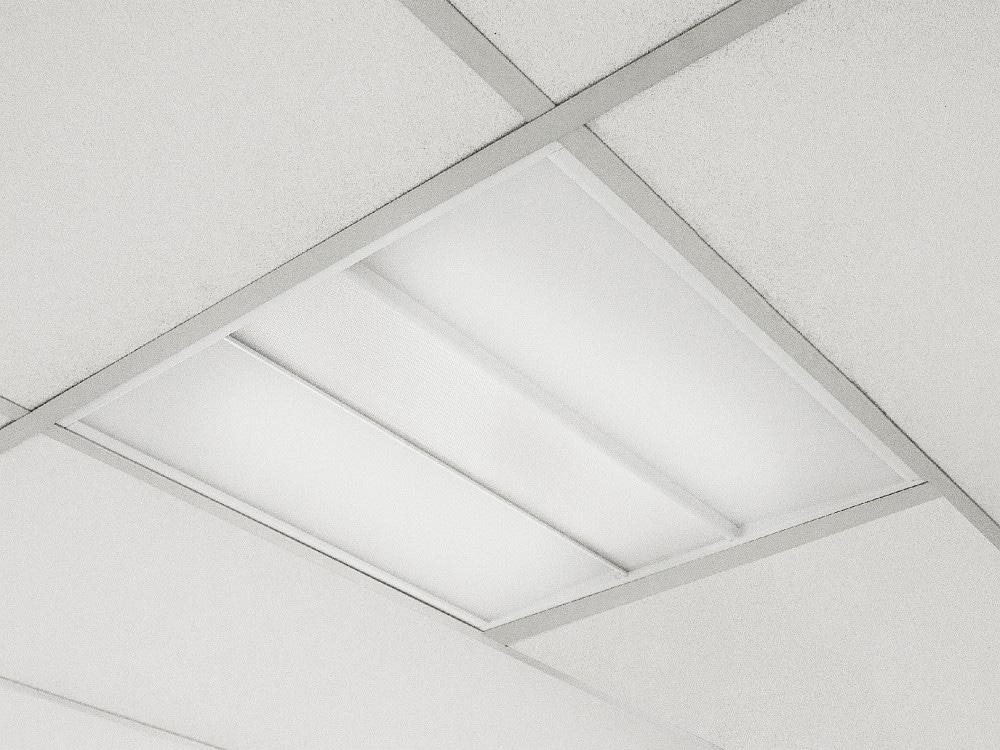 """LED-Einbauleuchte """"teno"""" für Bildschirmarbeitsplätze"""