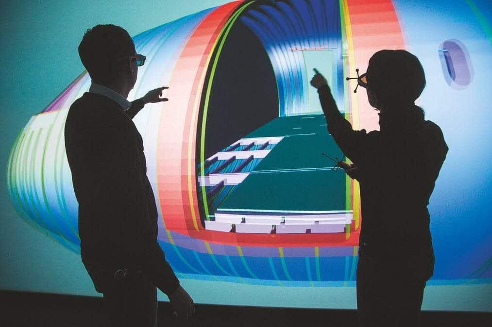 3D-Powerwall im ZAL Hamburg