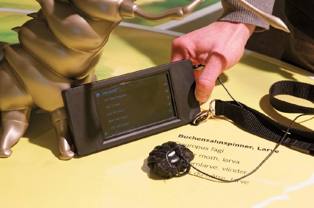 Die xpedeo Multimedia- Guides sind per Touch - screen bedienbar.
