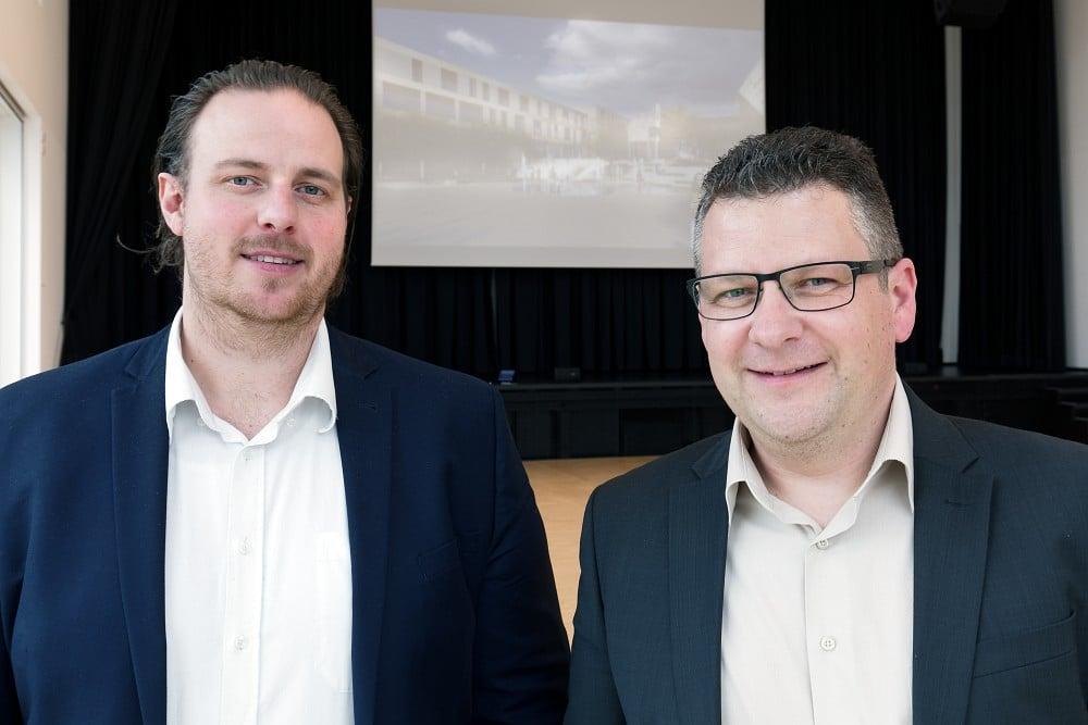 Federführend im Team der ASC Niederlassung Frankfurt: Projektleiter Damian Mucko Bose-Mitarbeiter Frank Ruppert (links) und Niederlassungsleiter Jörg Küchler