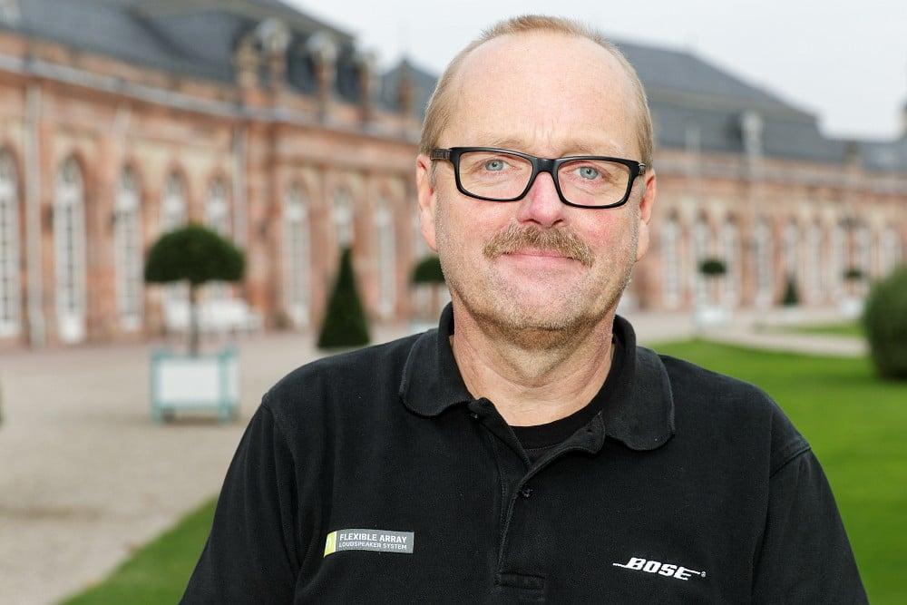 Bose-Mitarbeiter Frank Ruppert