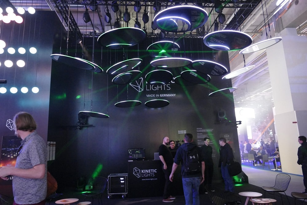 Kinetic Lights auf der Prolight + Sound 2018