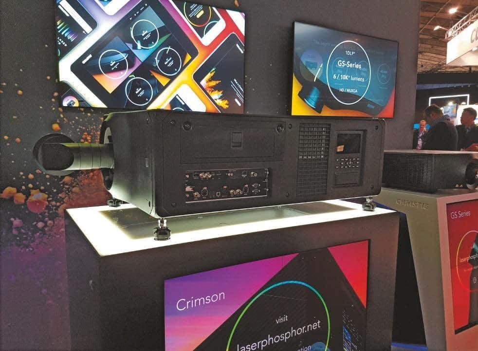 Christie Boxer 4K30 Laser-Projektor mit Terra- Inputboard