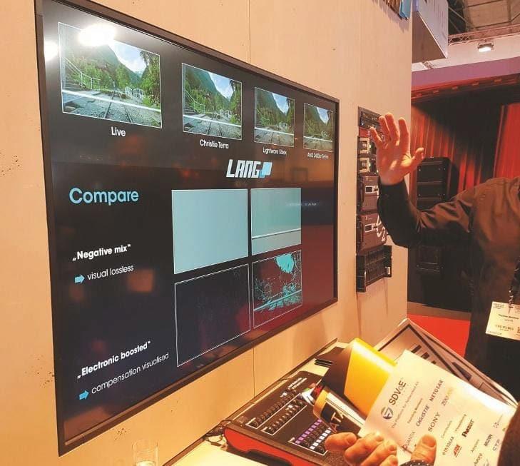 IP-basierten Systeme Lightwares UBEX, Christies Terra und AMX NVSi 2400er-Serie