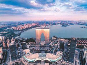 Bosch Sicherheitstechnik für Geschäftszentrum in China