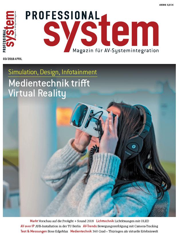 Aktuelle Ausgabe: Professional System